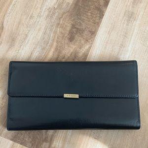 Coach Bags - FINAL PRICE DROP Coach leather clutch
